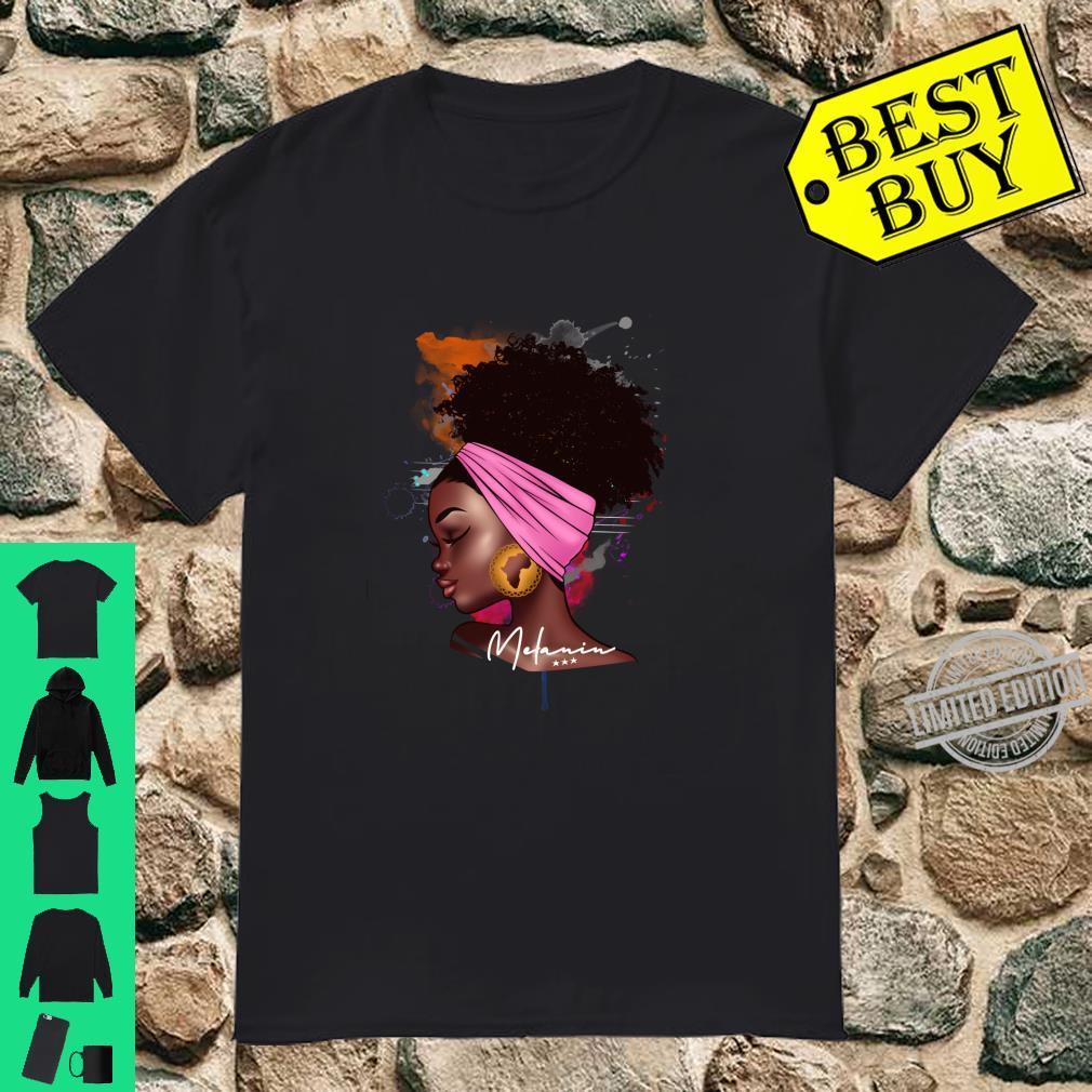 Afro Melanin Love Langarmshirt Shirt