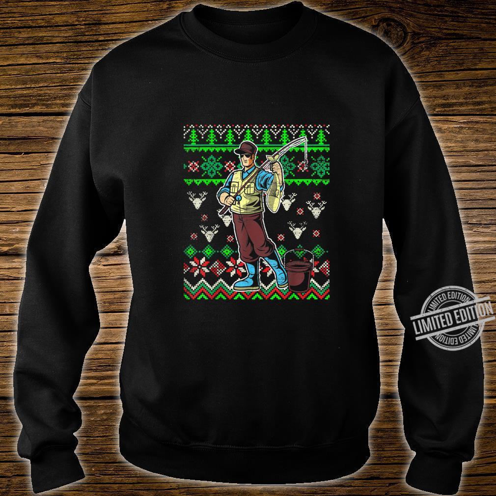 Angelliebhaber Vater Angeln Shirt sweater