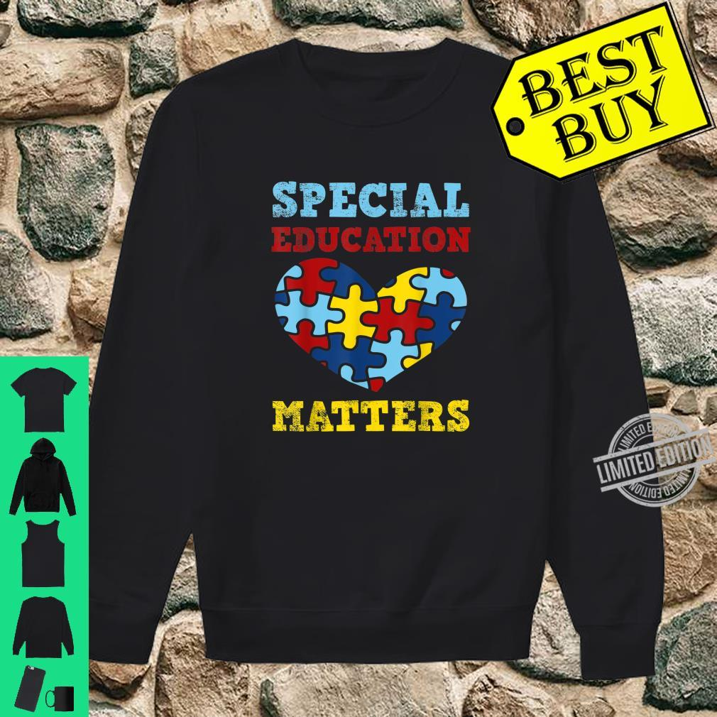 Autism Awareness SPED Special Education Teacher Shirt sweater