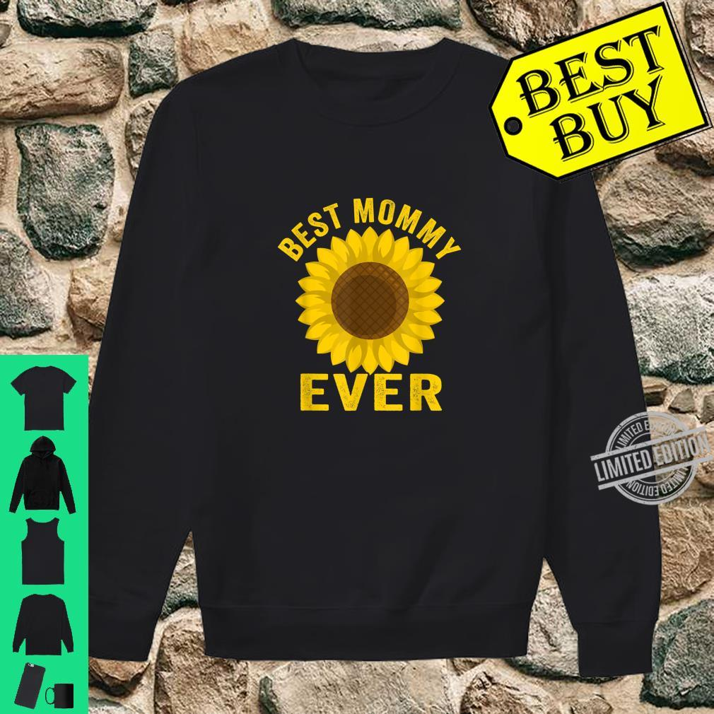 Best Mommy Ever Sunflowers Mothers Day Shirt sweater