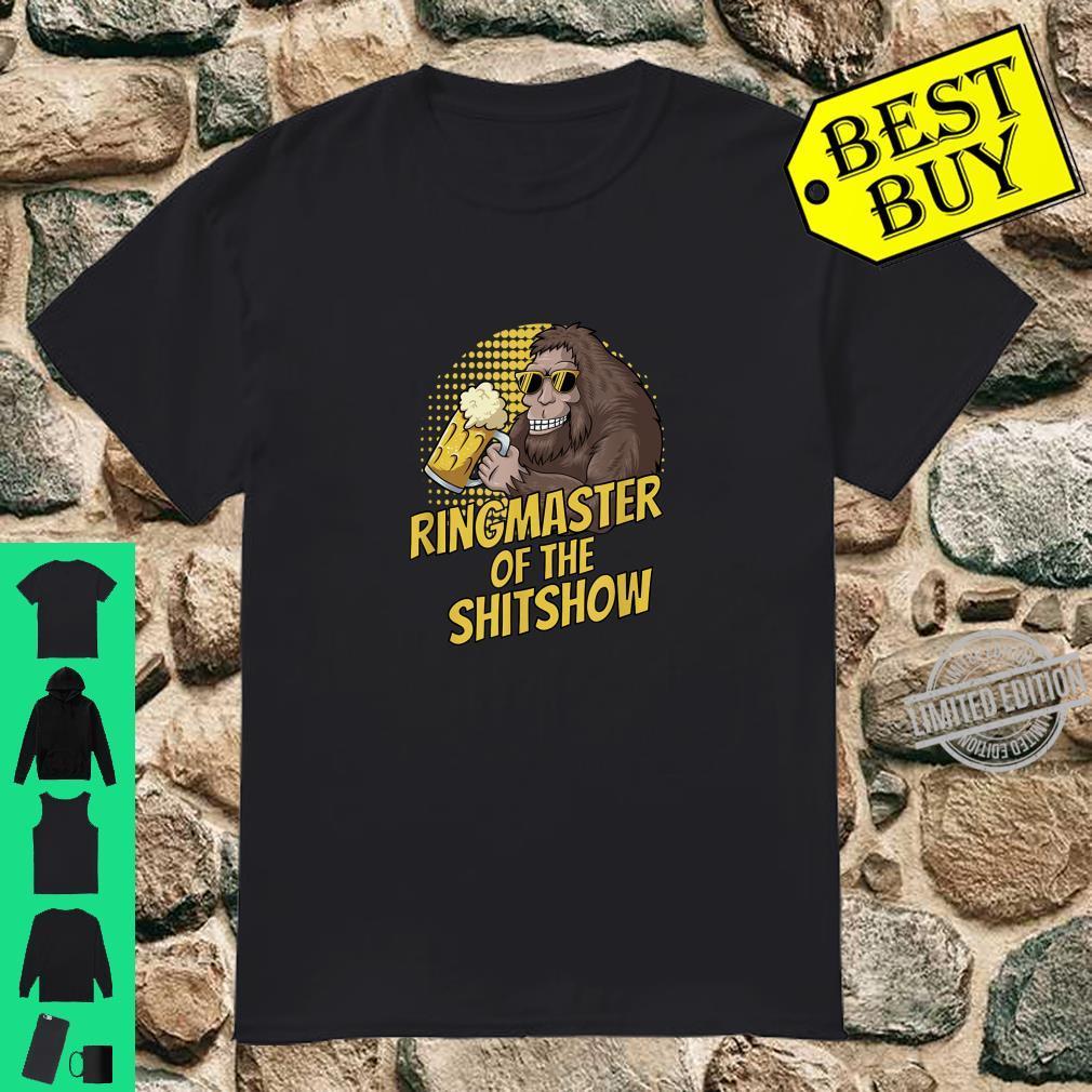Bigfoot Ringmaster Of The Shitshow Shirt