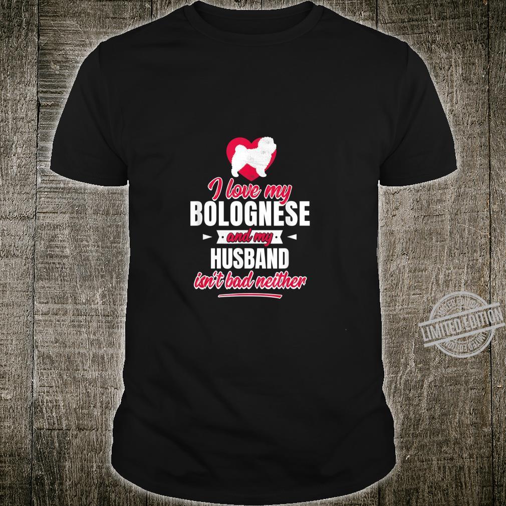 I Love Heart Bolognese Ladies T-Shirt