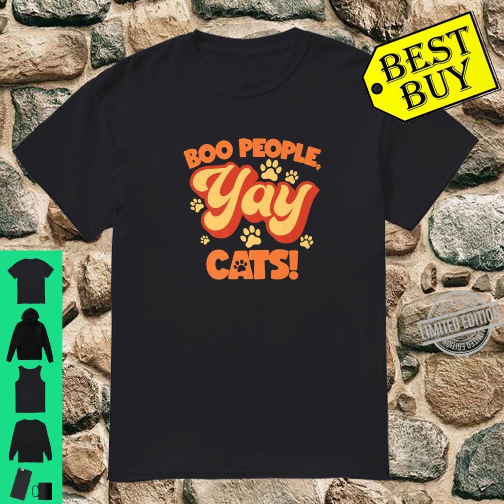 Boo People, Yay Cats Shirt