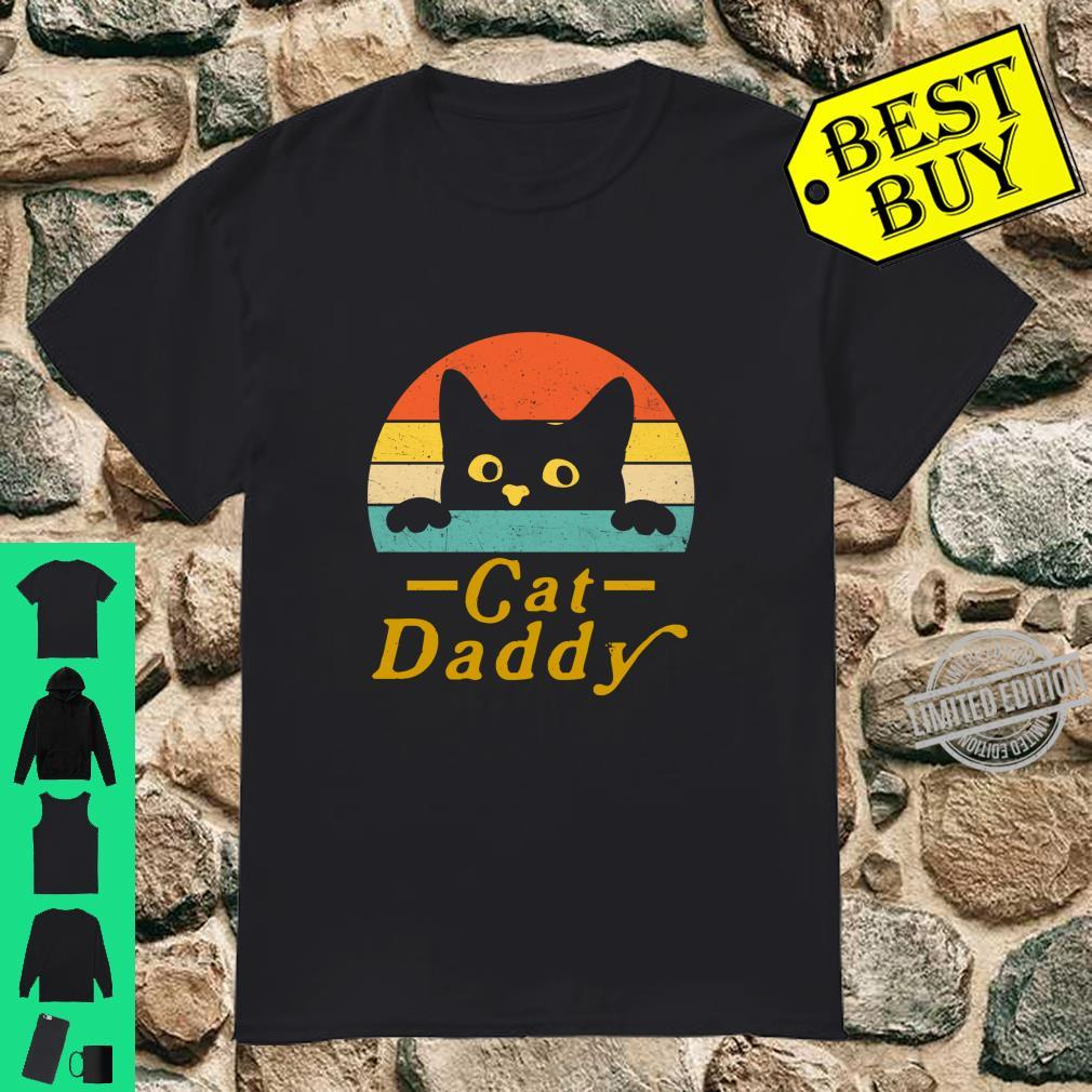 Cat Daddy Cat Dad Father Retro Style Shirt