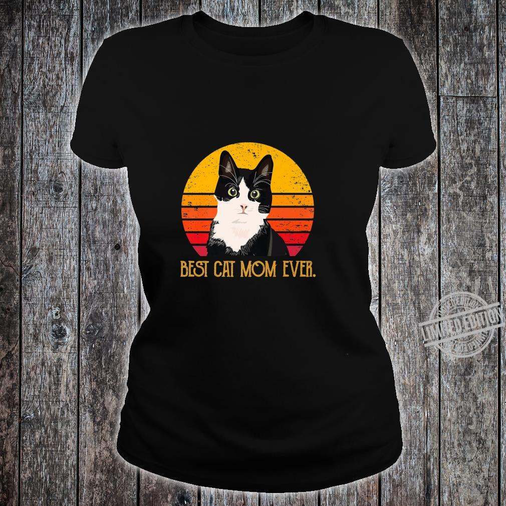 Cat Mommy Mother Best Cat Mom Ever Shirt ladies tee