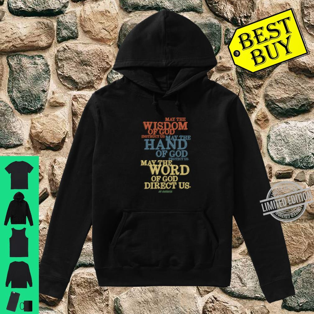 Christian St Patricks Day Saint Patrick Quote Shirt hoodie