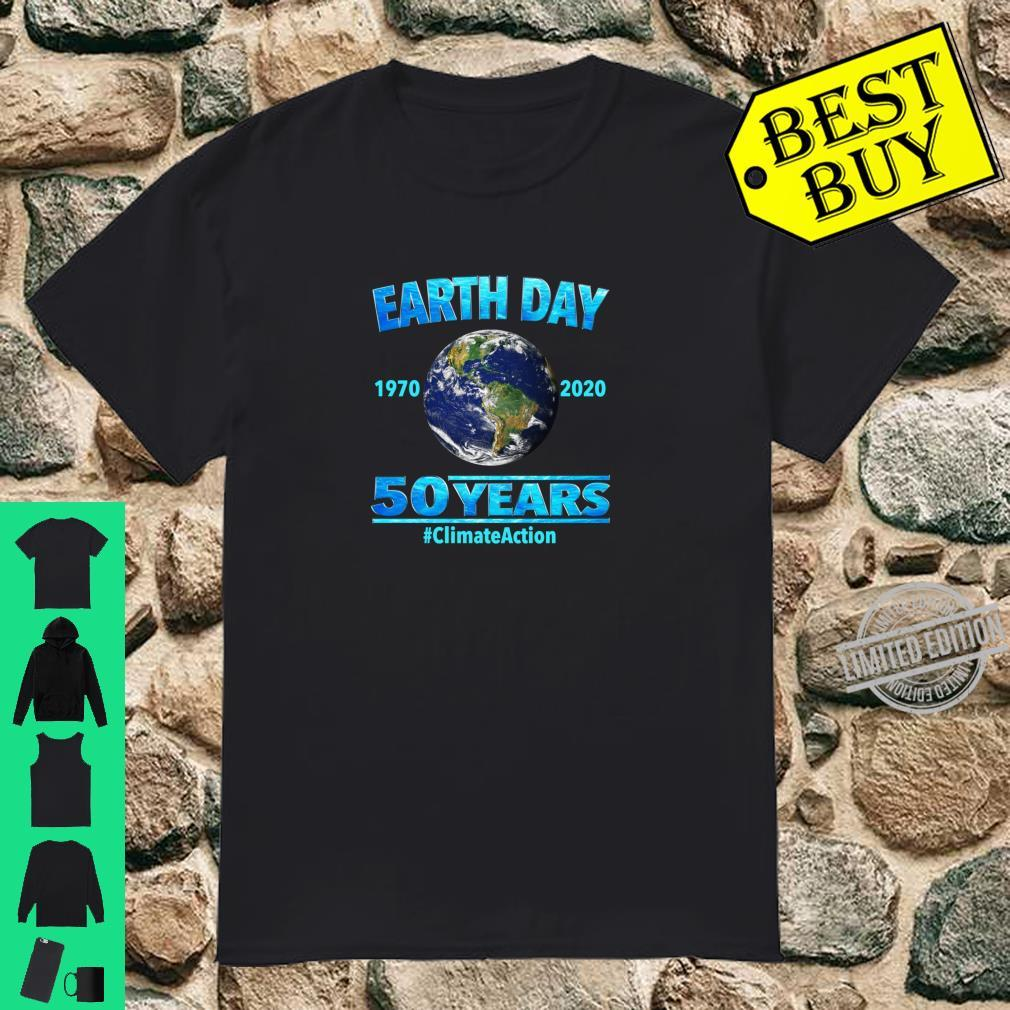 Climate Action Earth Day 2020 50th Anniversary Shirt