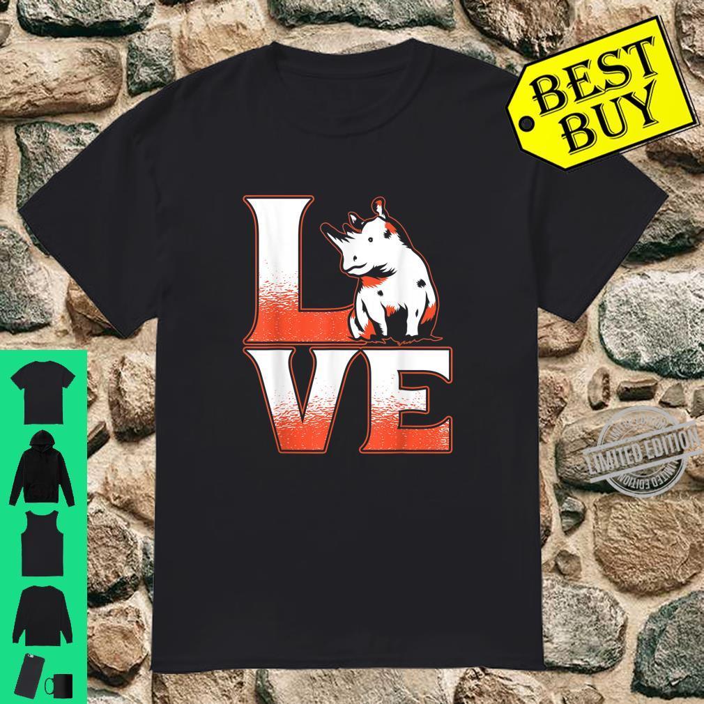 Cute Animal Adorable Idea Rhinoceros Rhino Shirt