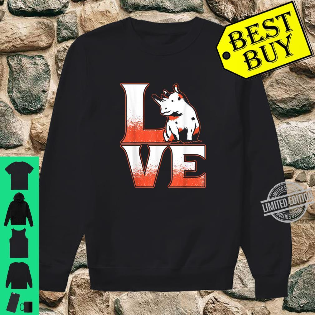 Cute Animal Adorable Idea Rhinoceros Rhino Shirt sweater