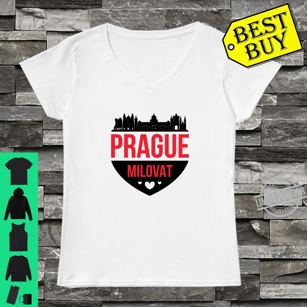 Czech Republic Love Prague Shirt ladies tee