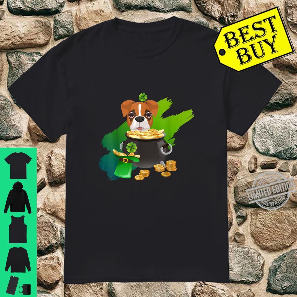 Dog Shirt St Patricks Day Shirt Boxer Shirt