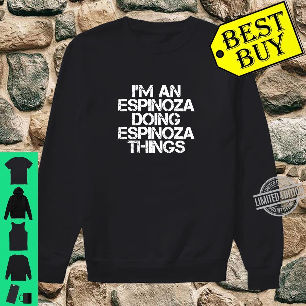 ESPINOZA Surname Family Tree Birthday Reunion Shirt sweater