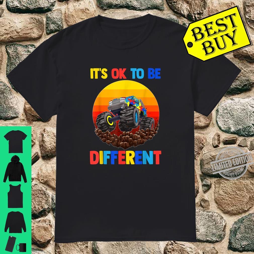 Es ist in Ordnung, anders zu sein Shirt Autism Awareness Shirt