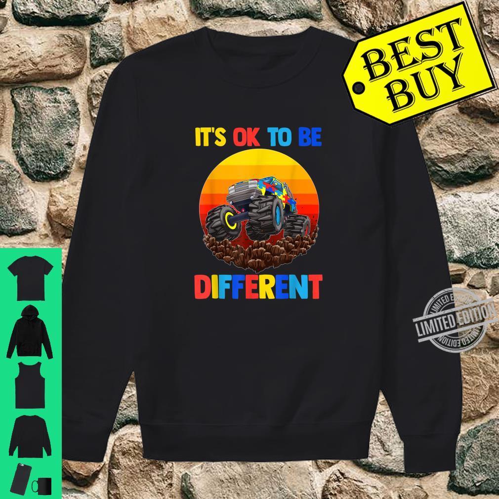 Es ist in Ordnung, anders zu sein Shirt Autism Awareness Shirt sweater