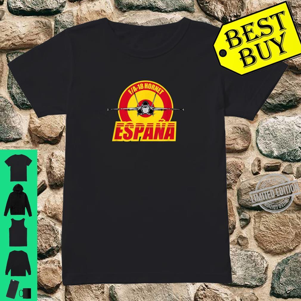 FA18 Hornet Espana Shirt ladies tee