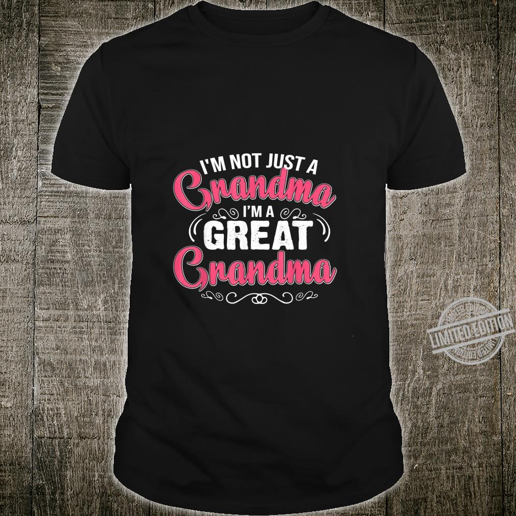 Family I'm A Great Grandma Shirt