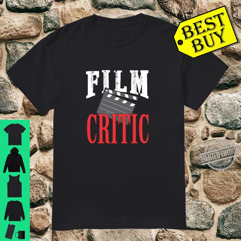Film critic family movie night director clapboard film nerd Shirt