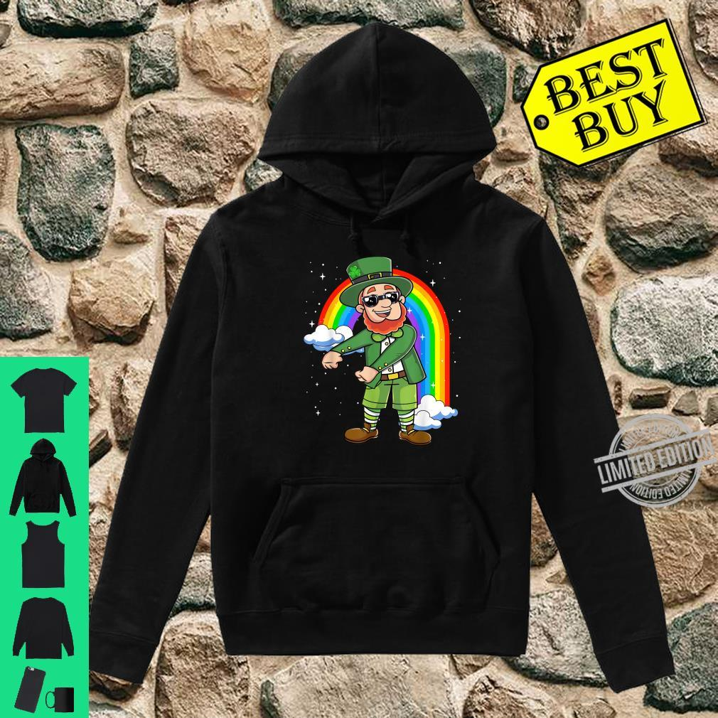 Flossing Leprechaun St Patricks Day Floss Like a Boss Shirt Shirt hoodie