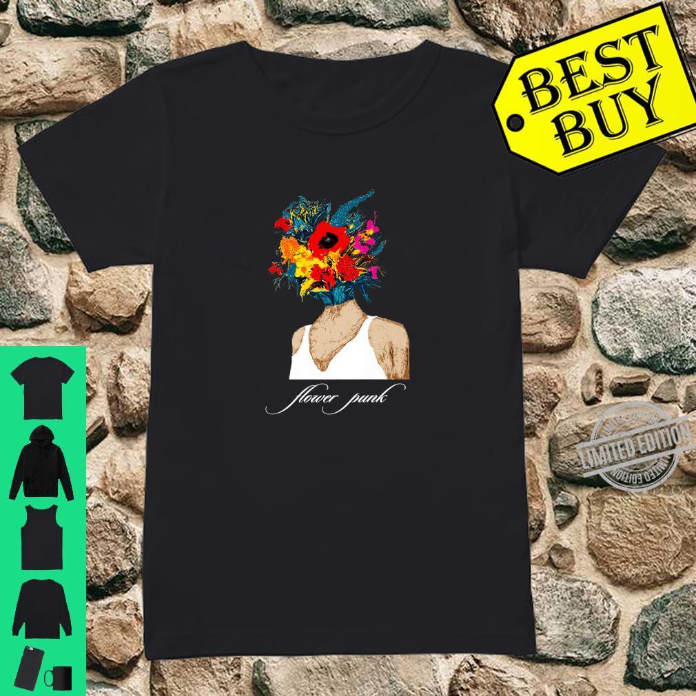 Flower Punk Shirt ladies tee