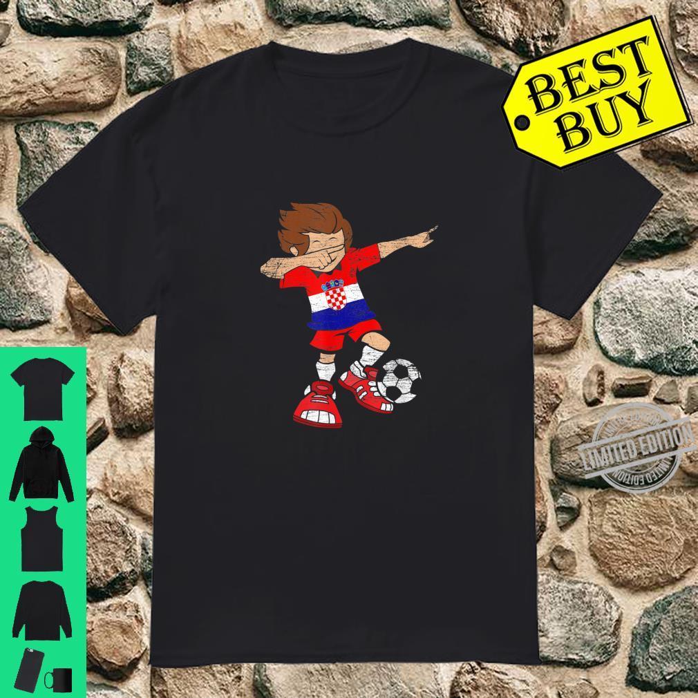 Football Croatian Jersey Dab Soccer Boy Croatia Shirt
