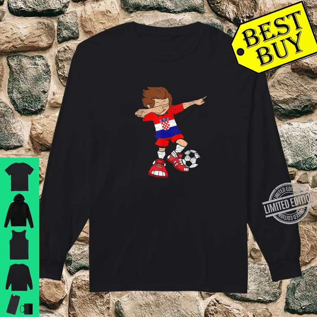 Football Croatian Jersey Dab Soccer Boy Croatia Shirt long sleeved