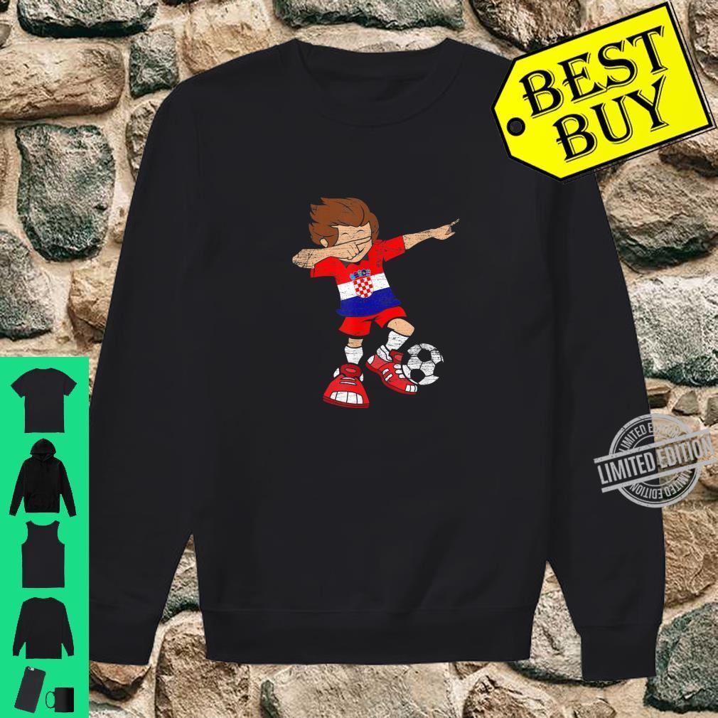 Football Croatian Jersey Dab Soccer Boy Croatia Shirt sweater