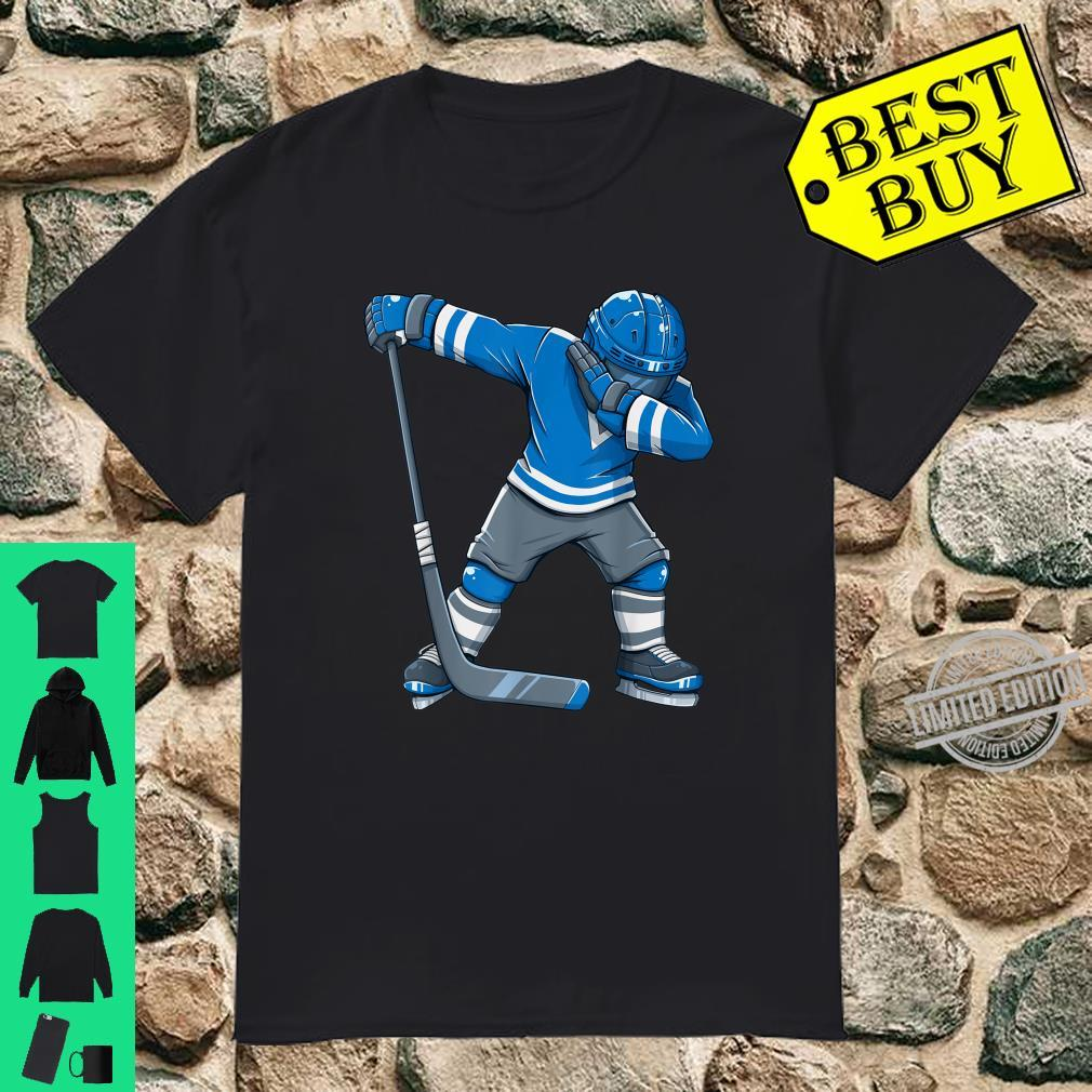 Funny Boy Kid Ice Hockey Dab Apparel, Dabbing Player Youth Shirt