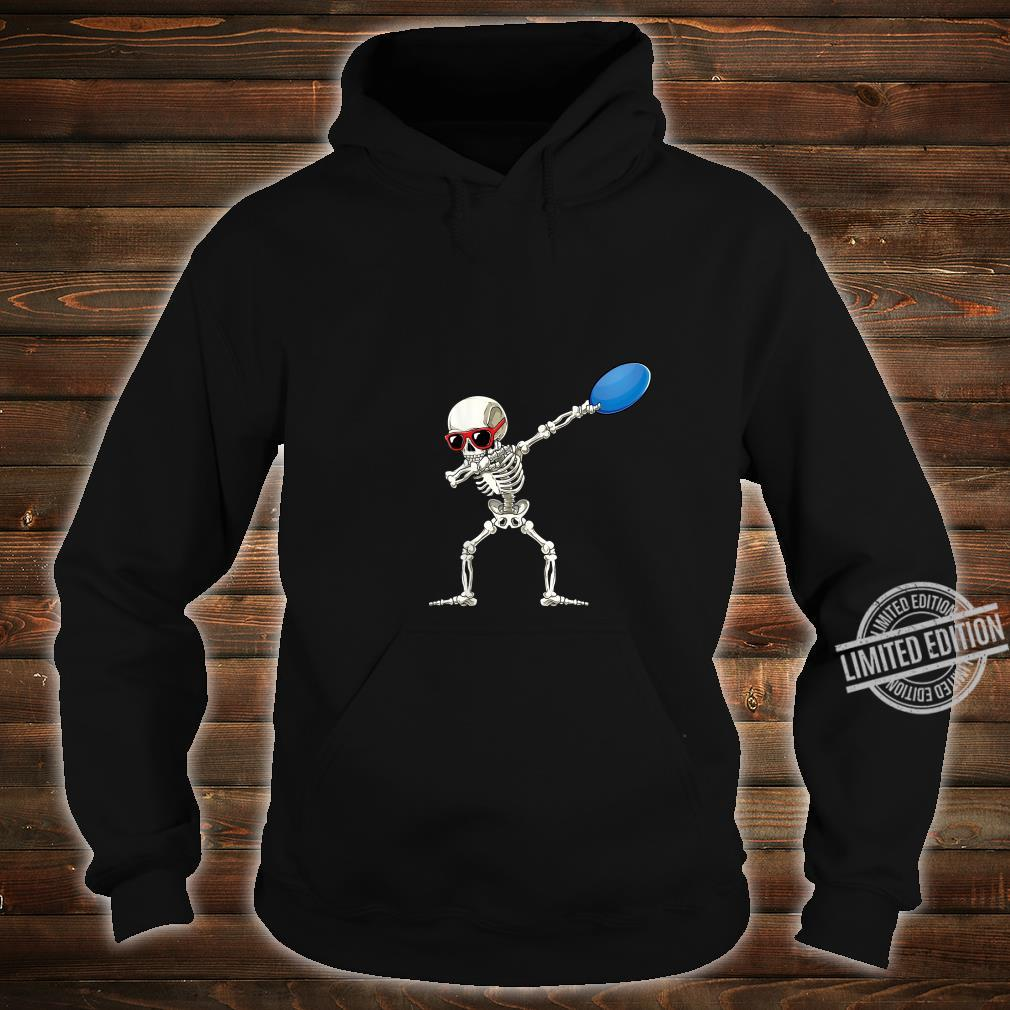 Funny Dabbing Skeleton Dab Disc Golf Player Cool Shirt hoodie