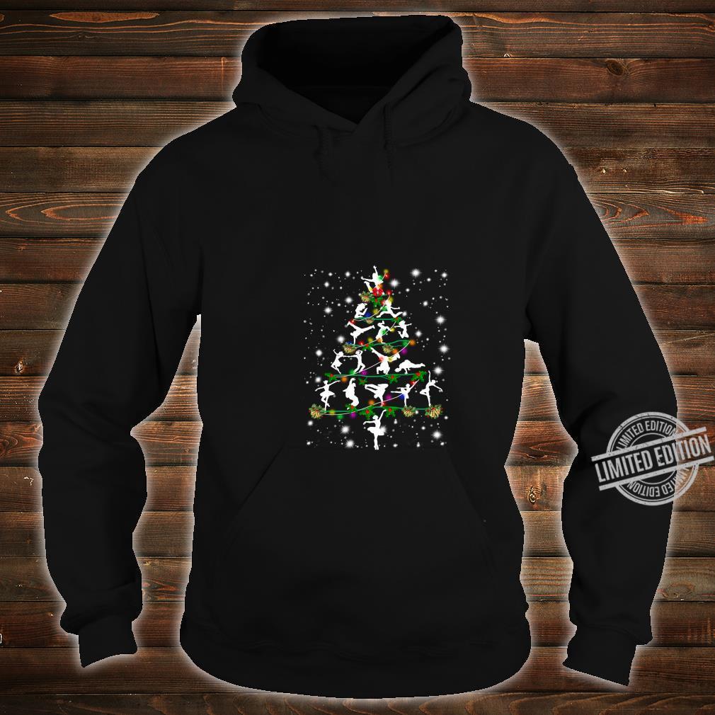 Funny Dance Christmas Tree Group Christmas Party Pajama Shirt hoodie