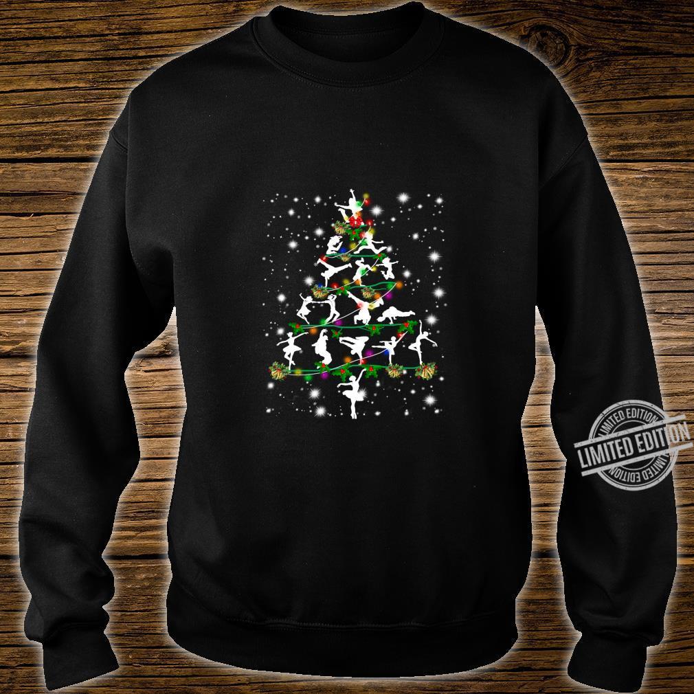 Funny Dance Christmas Tree Group Christmas Party Pajama Shirt sweater