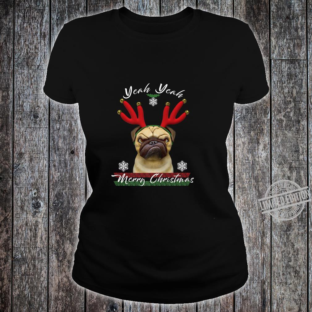 Funny Dog Clothes for Christmas The Perfect Dog Owner Shirt ladies tee