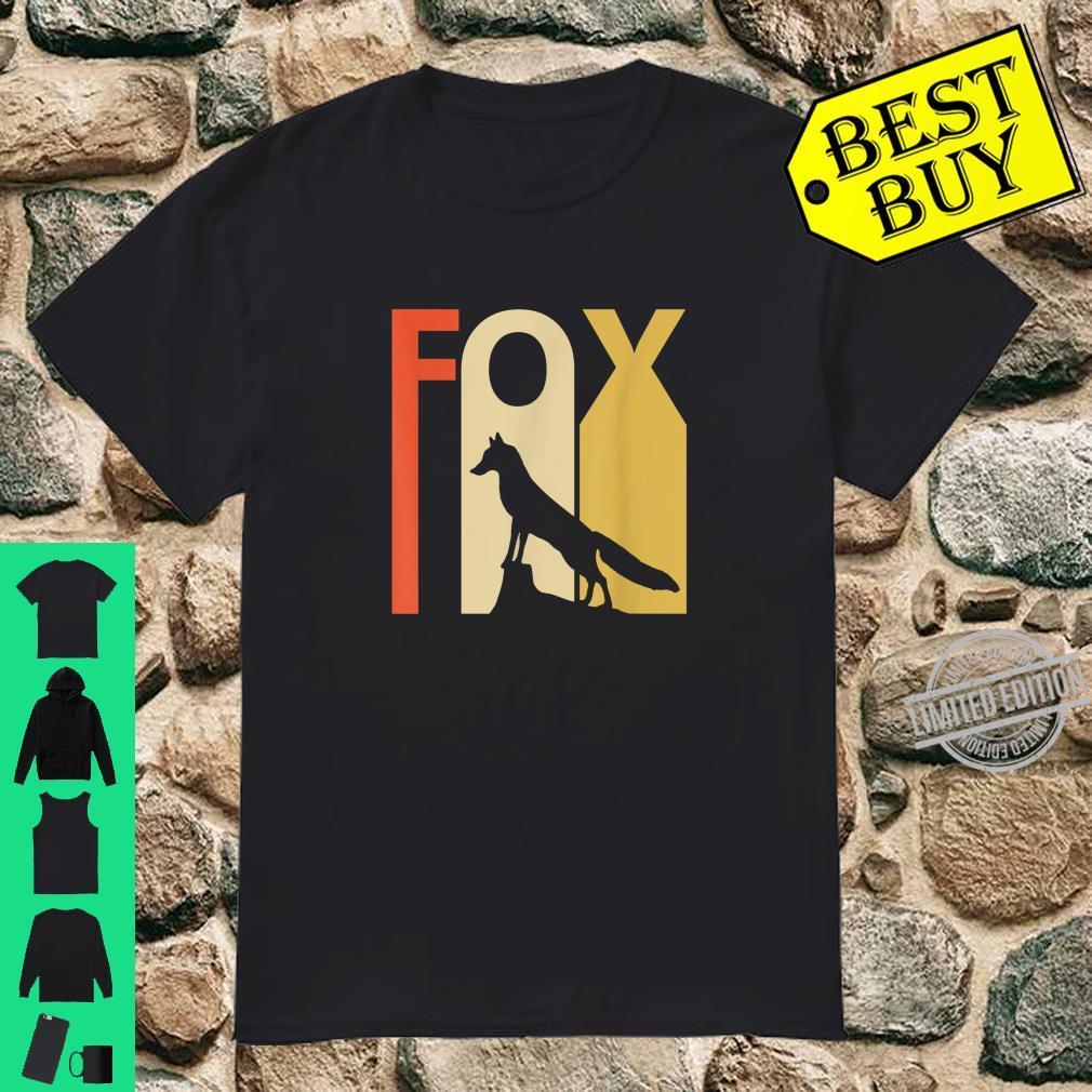Funny Fox Animal Shirt