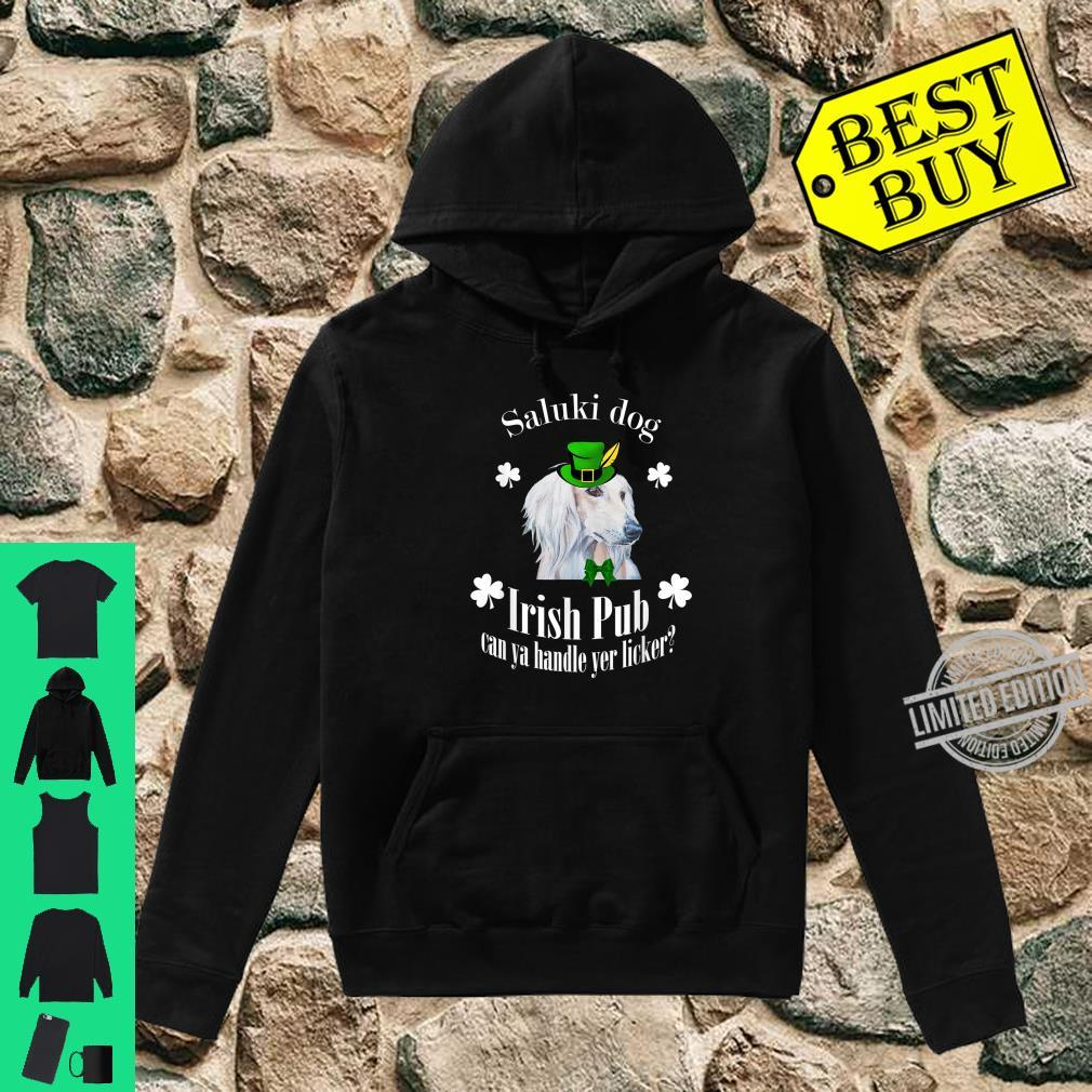 Funny Irish Pub Saluki Mother Mom Dad Dog Saluki Shirt hoodie