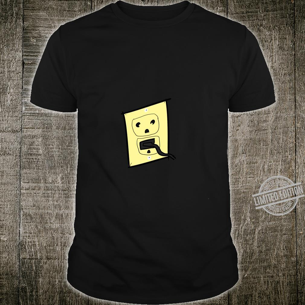 Funny Plug Outlet Face Shirt