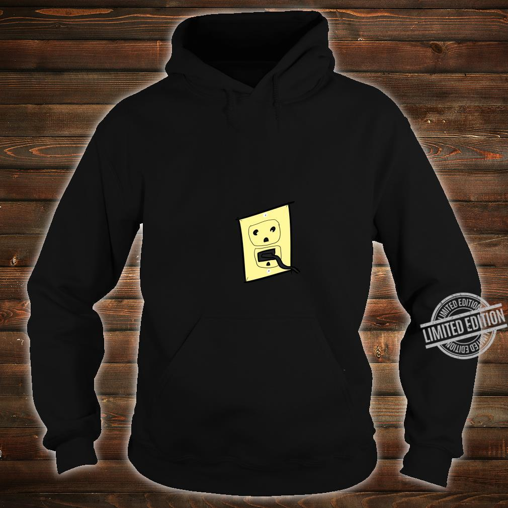 Funny Plug Outlet Face Shirt hoodie