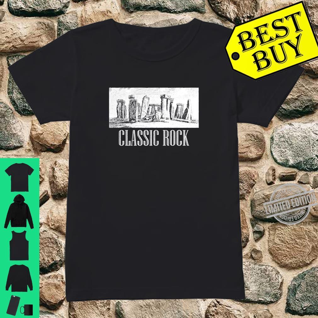Funny Stonehenge Humour English History Meme Souvenir Shirt ladies tee