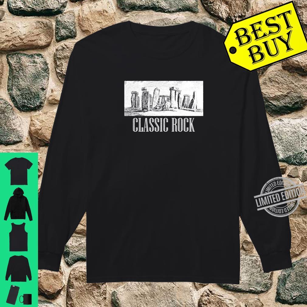 Funny Stonehenge Humour English History Meme Souvenir Shirt long sleeved