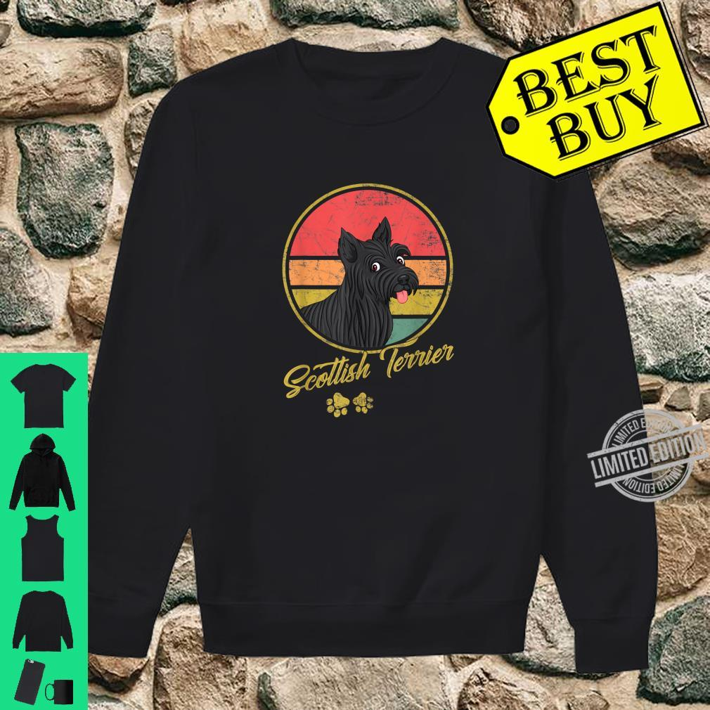 Funny Vintage Scottish Terrier For Dogs Shirt sweater