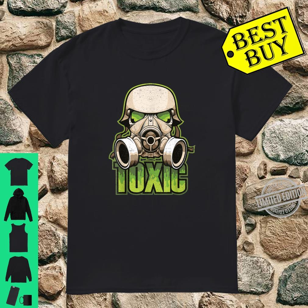 Gasmaske Maske Mundschutz Shirt