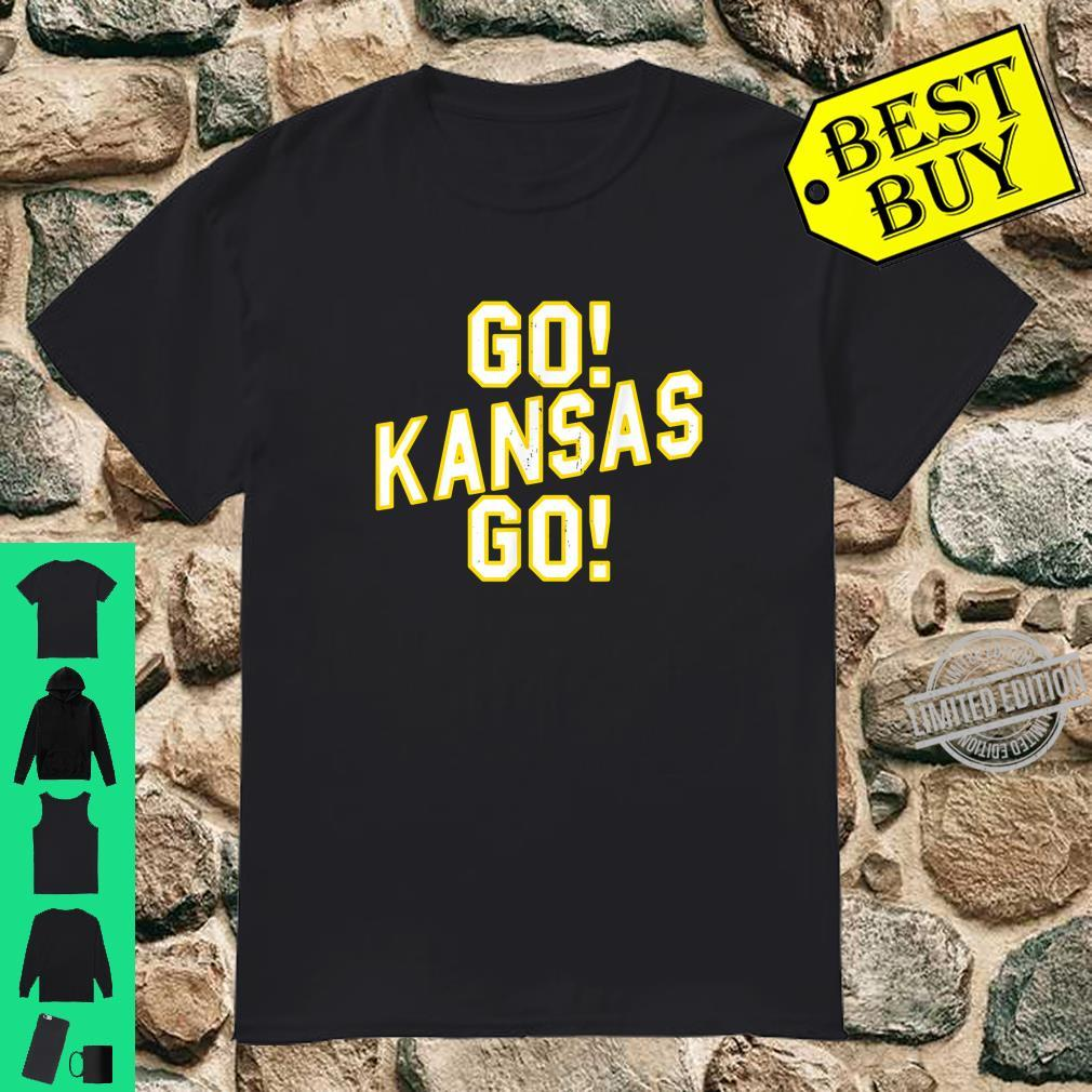 Go Kansas Go Shirt Kansas City Vintage Football Shirt