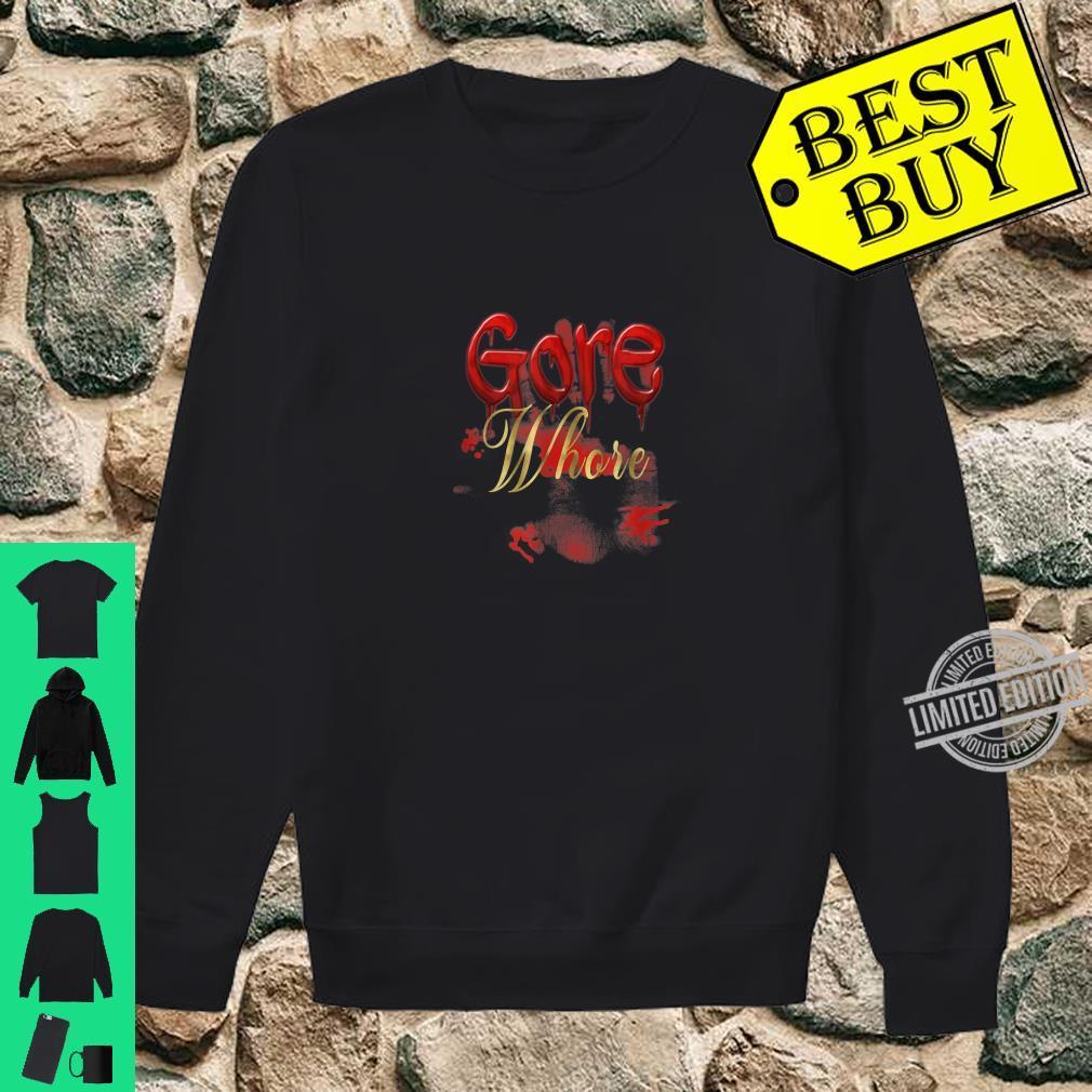 Gore Whore Halloween Goth Punk Nightmare Humor Shirt sweater