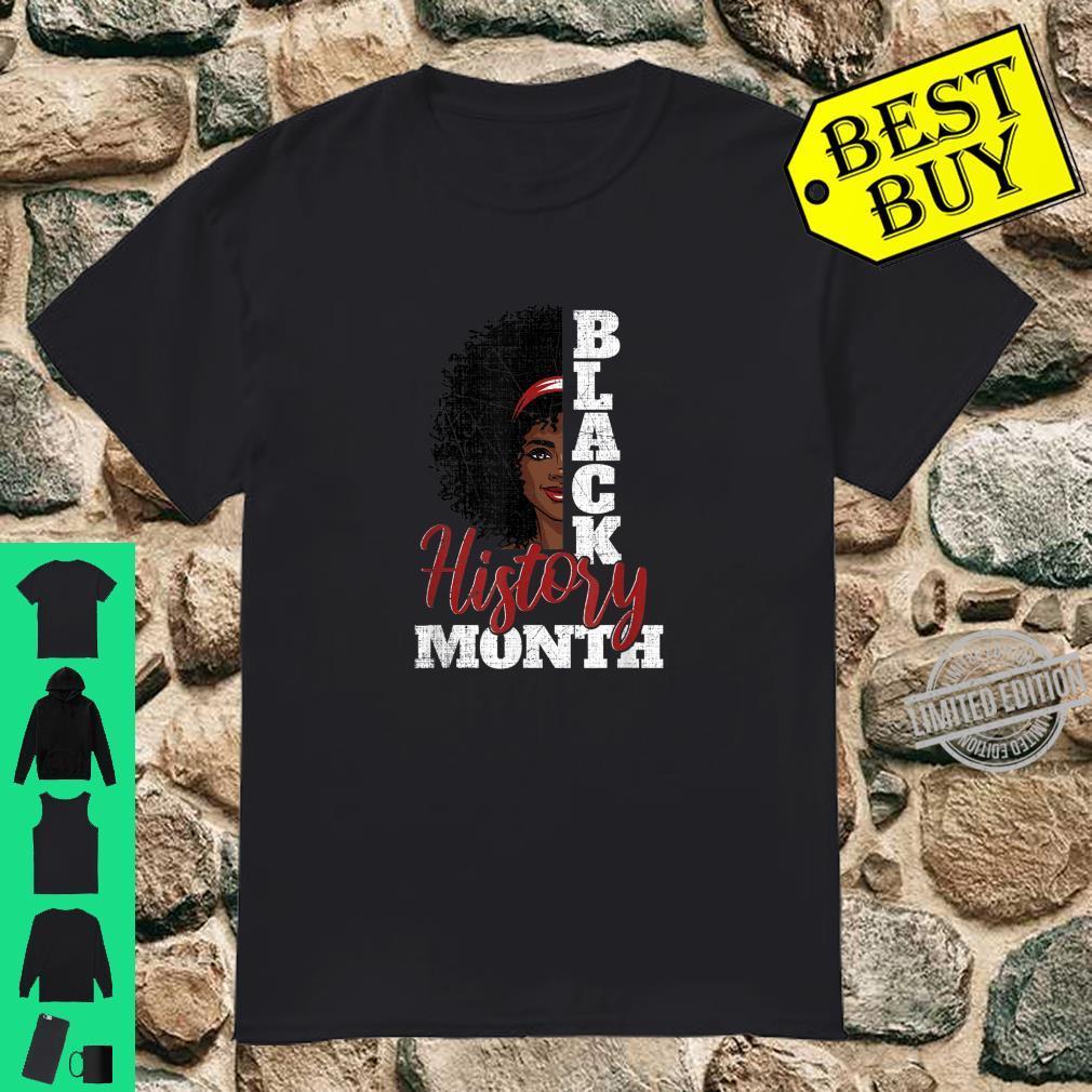 Grunge Black History Shirt Black Queen Face Melanin Afro Shirt
