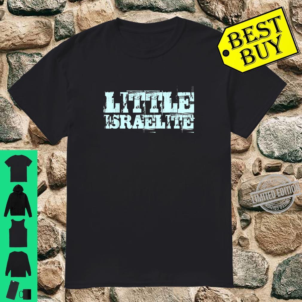 Hebrew Israelit Tribes Little Israelite Bibel Torah Geschenk Shirt