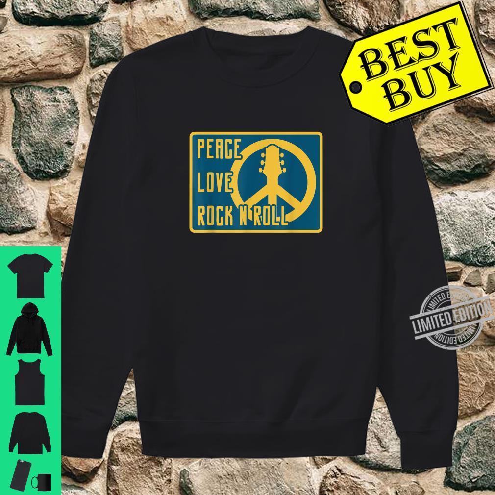 Hippie Hippies Peace Vintage Retro Guitar Player H Shirt sweater