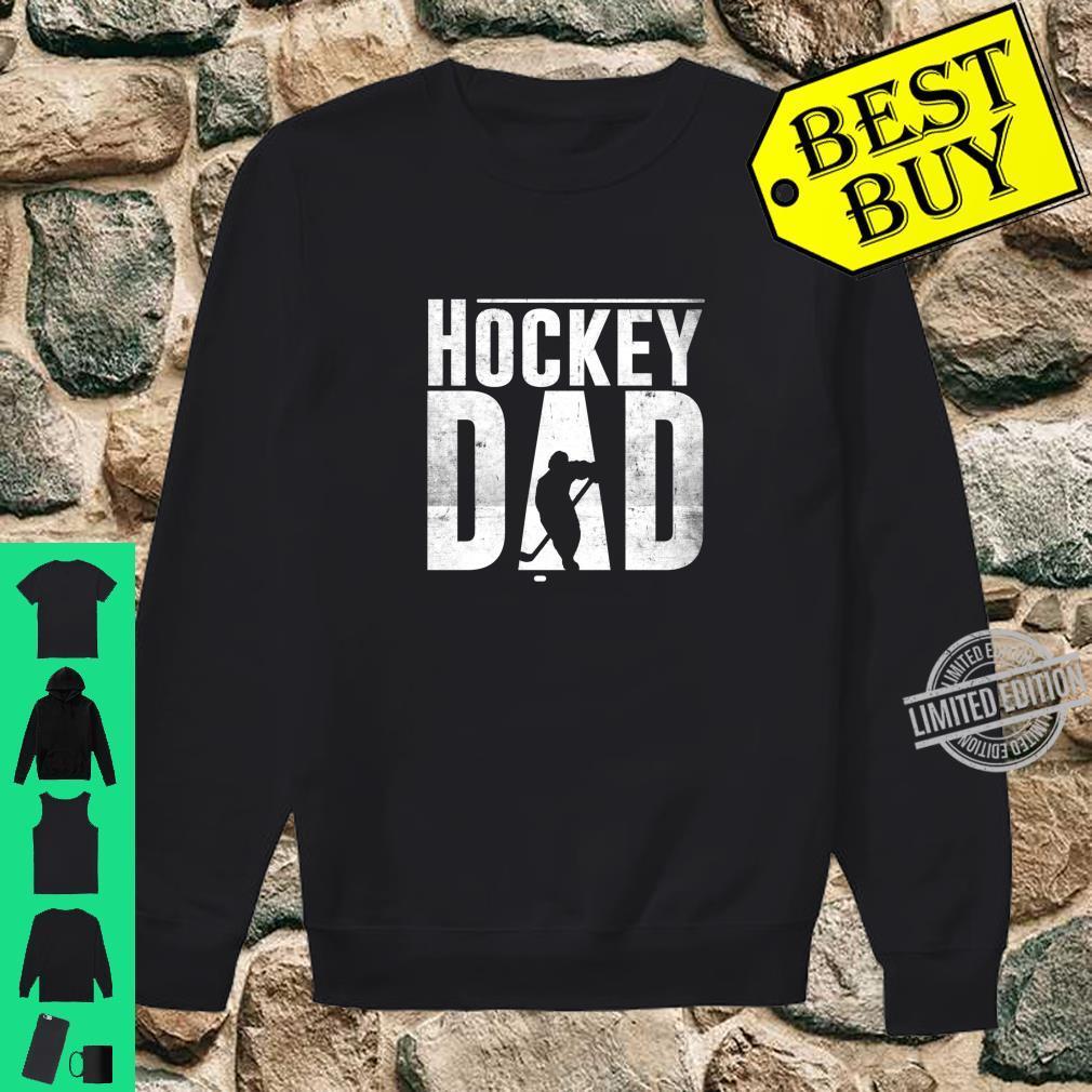Hockey Dad Hockey Silhouette Father Shirt sweater