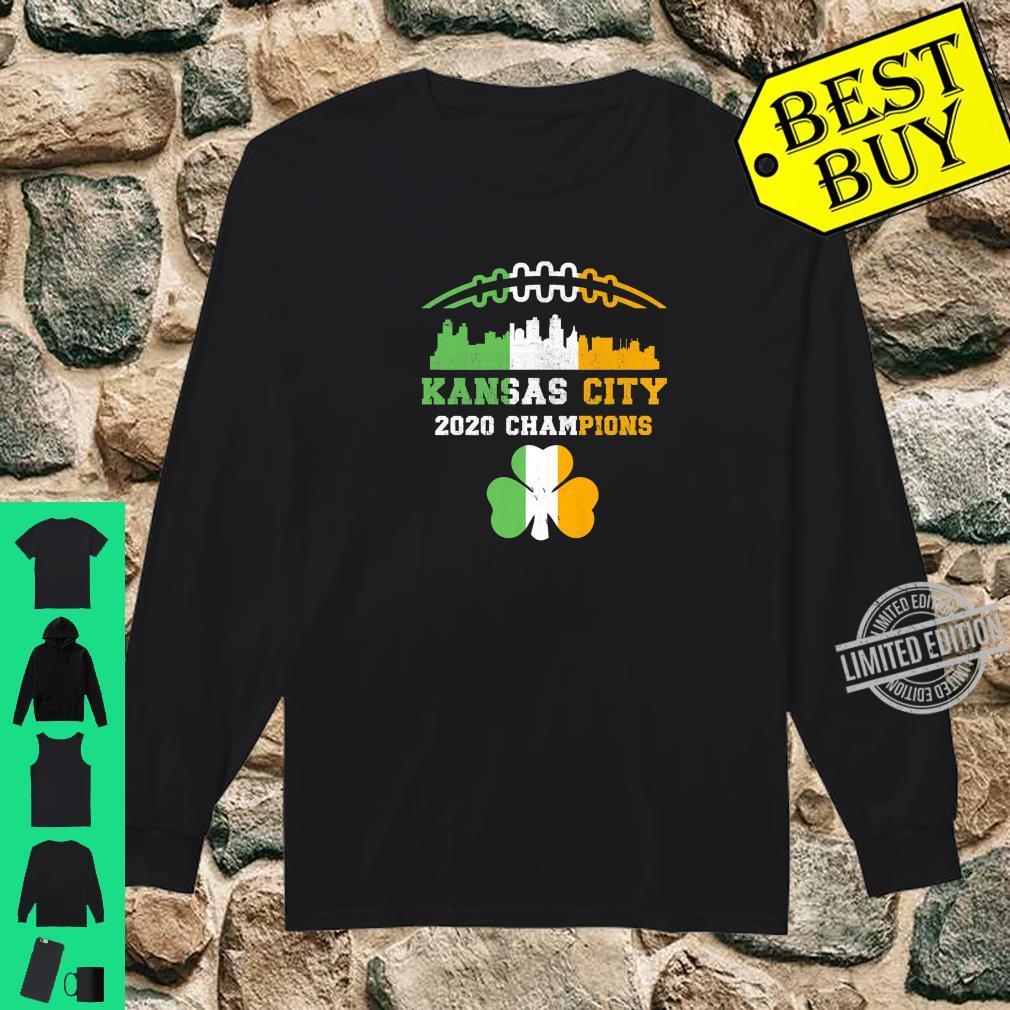 Kansas City Irish Football St Patricks Day 2020 Champions Shirt long sleeved