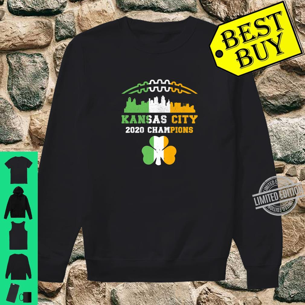 Kansas City Irish Football St Patricks Day 2020 Champions Shirt sweater