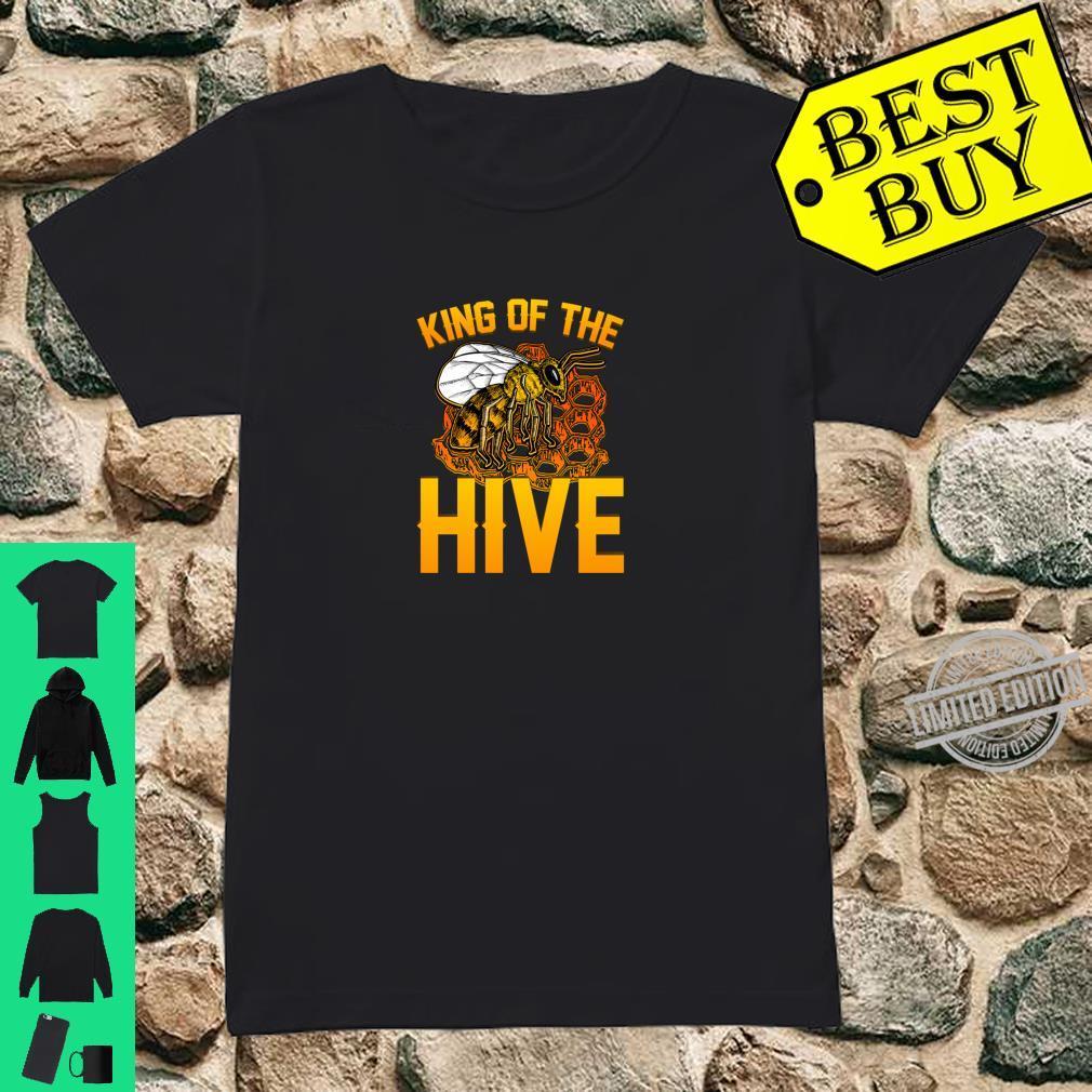 Hoodie King of The Hive Honeycomb King Bee
