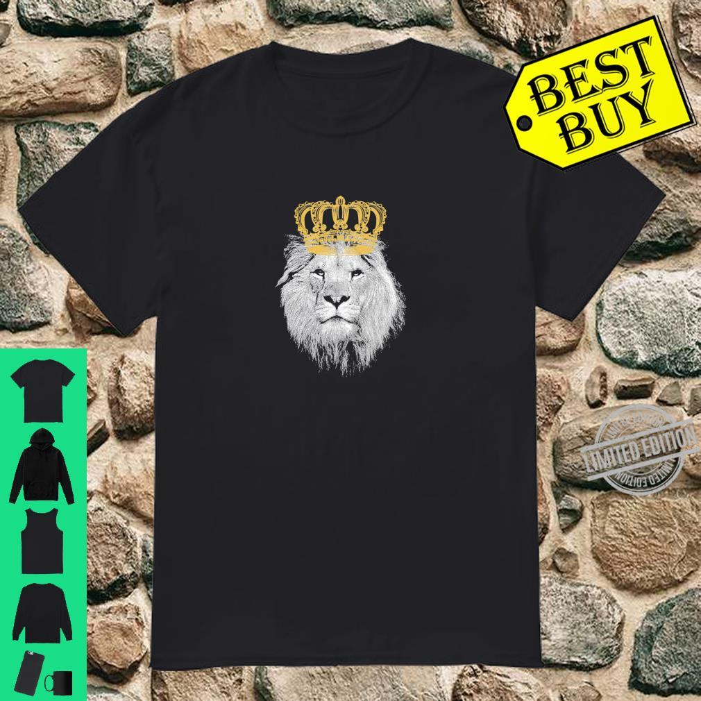King of the pride with crown valentine's day for him Shirt
