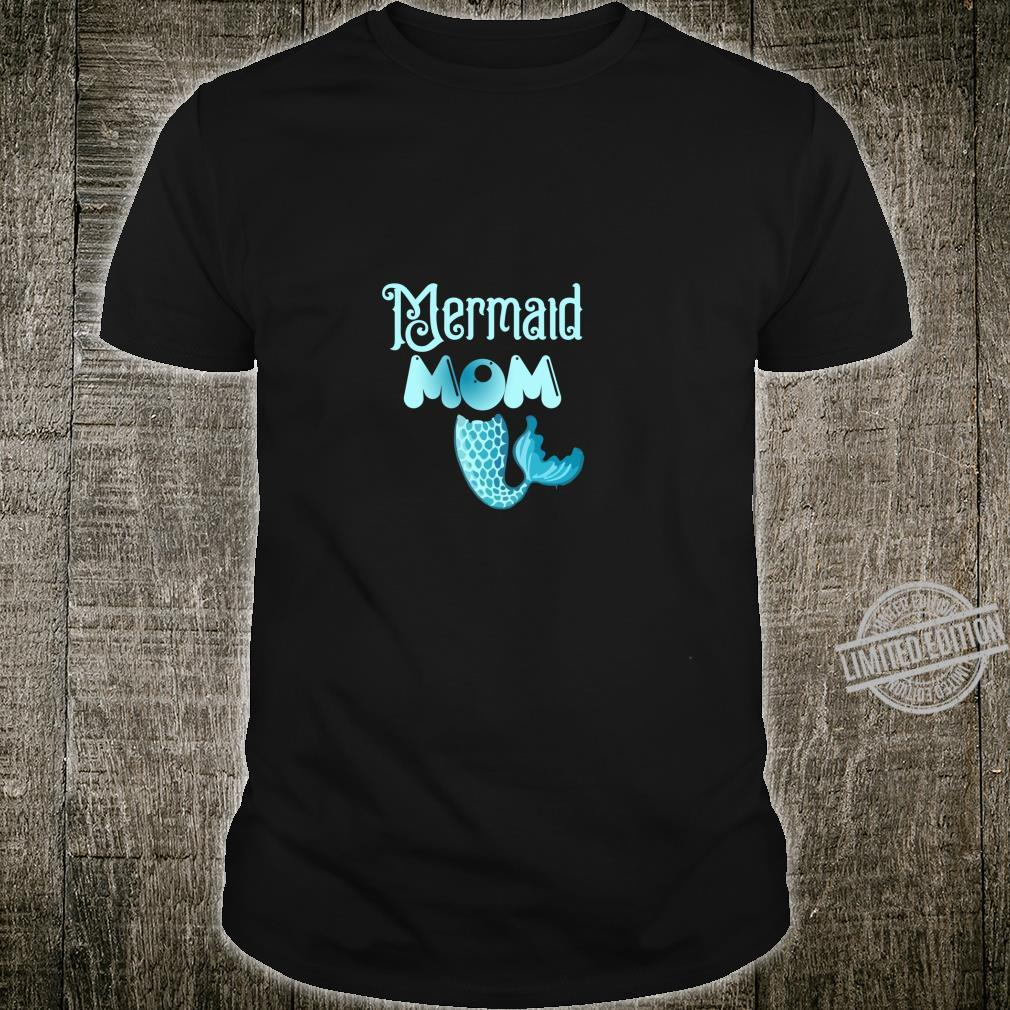 Mermaid Mom Birthday party family Shirt
